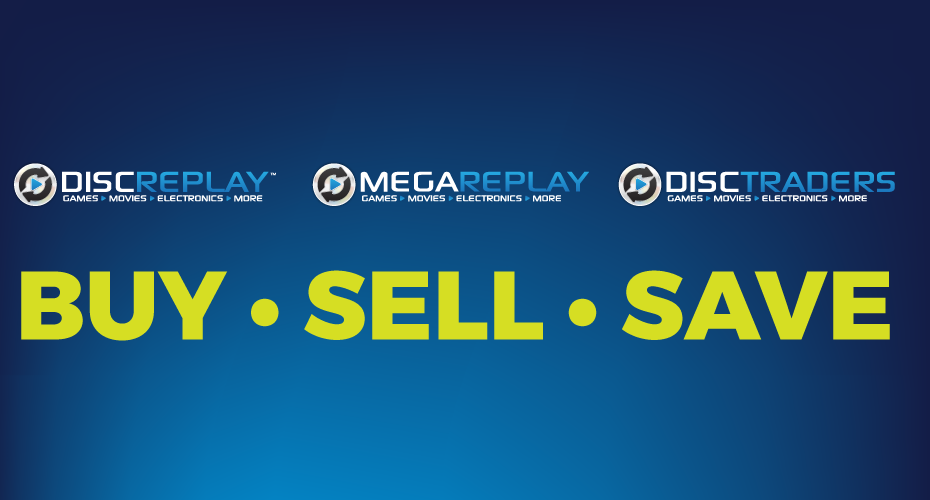 Disc Replay | Games • Movies • Electronics • More